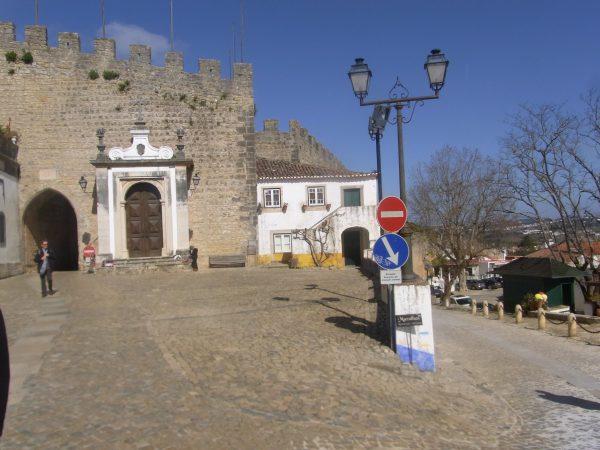 ポルトガル オビドス(城壁)
