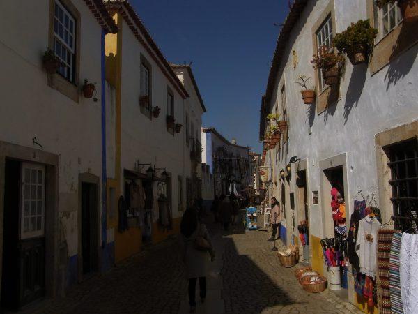 ポルトガル オビドス街並み