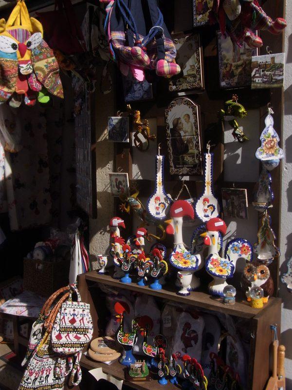 ポルトガル オビドス(お土産物屋)