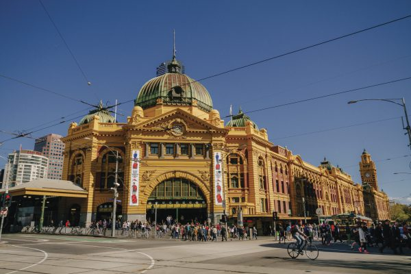 Flinders Street Station, Melbourne, VIC