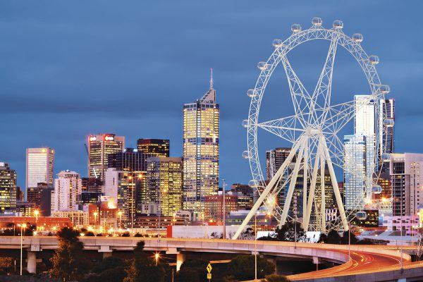 Melbourne Star Observation Wheel, Melbourne, VIC