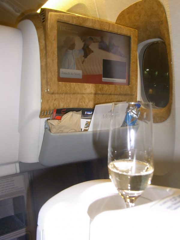 エミレーツ航空、ビジネスクラス