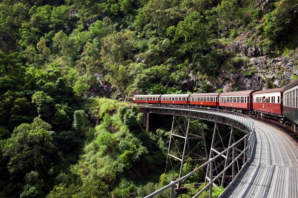 Kuranda Scenic railwayStoney Creek Falls bridge