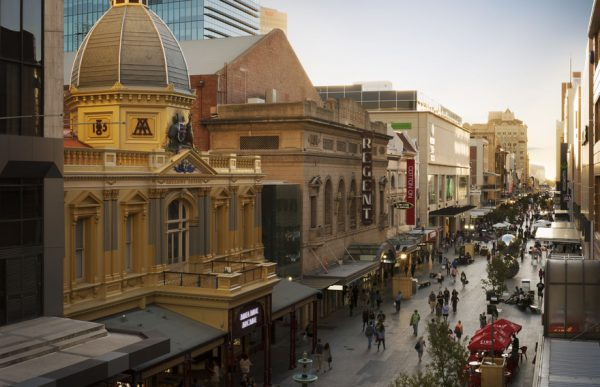 Rundle Mall, Adelaide, SA