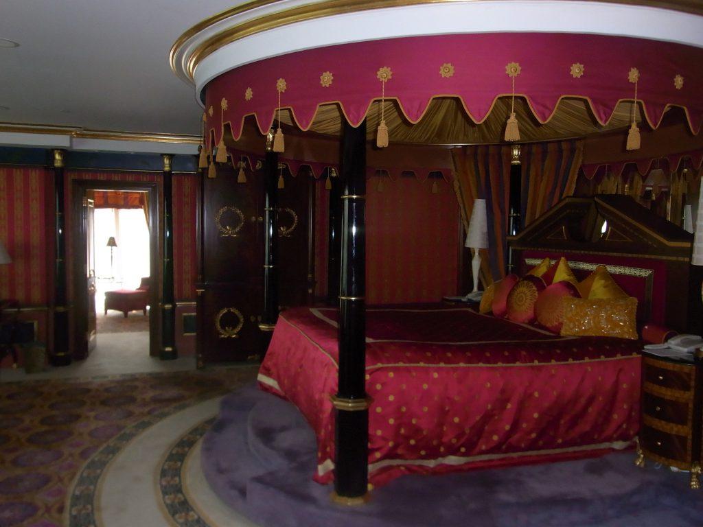 ドバイ:ブルジュ アル アラブ ジュメイラ(お部屋)