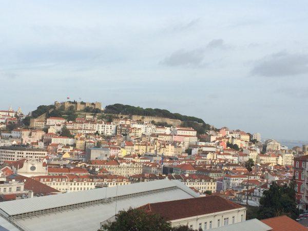 リスボン サンジョルジョ城