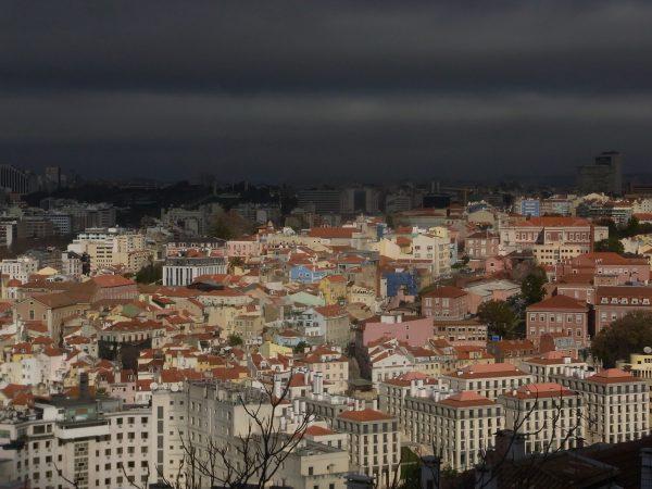 リスボン サンジョルジョ城(眺め)