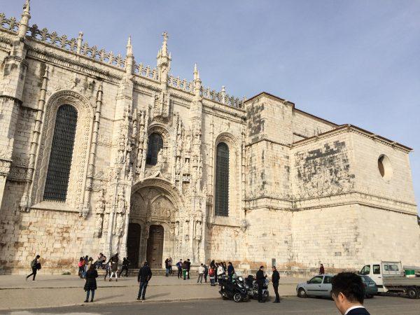 リスボン ジェロニモス修道院(外観)