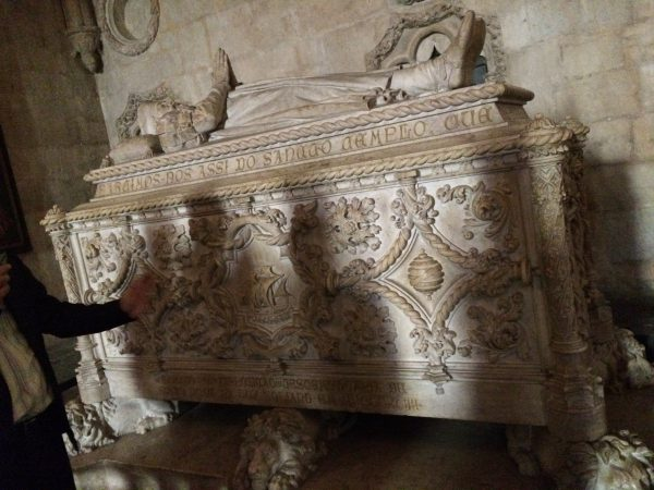 ヴァスコ・ダ・ガマ石棺