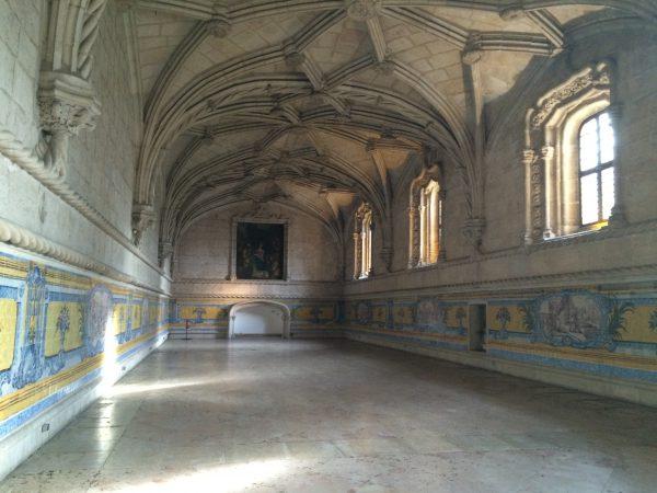 ジェロニモス修道院 食堂